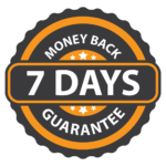 7 Days Money back guaranteed