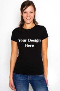 women-custom-t-shirt