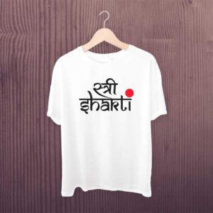 Man Printed T-shirt Stree Shakti