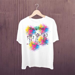 Holi Tshirt For Kids Holi Hai