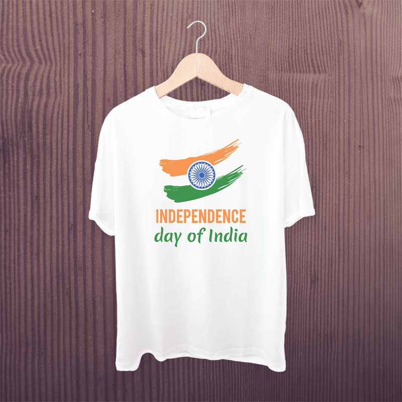 15-Aug-India-Independence-Day-T-Shirt-White-Printed