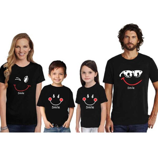Family-T-Shirts-For-4-Smile