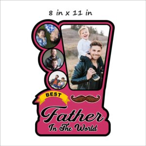 Best-Father-Wooden-Photo-Frame