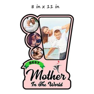 Customized Best Mother Wooden Photo Frame