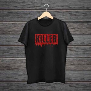 Girl T-Shirt Killer Glitter Print