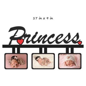 Customized Princess Wooden Photo Frame
