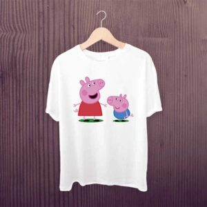 Kids Tshirt Cute Piggy