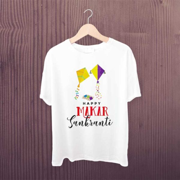 Happy-Makar-Sankranti-Kite-Kids-Tshirt