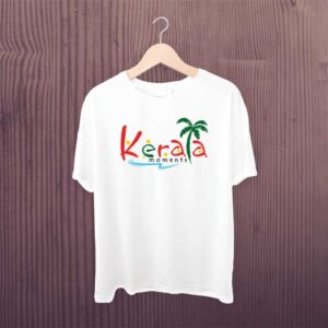 Kerala Beach White Tshirt