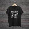 Straight-Outta-Punjabi-Black-Cotton-Tshirt
