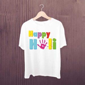 Happy-Holi-Kids-Hand-Tshirt
