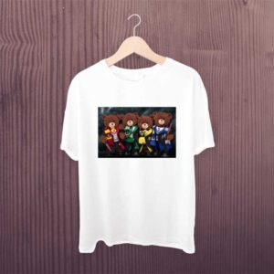 Harry Potter Teddy White Printed Tshirt