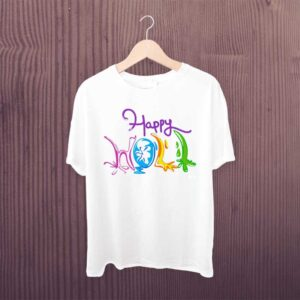 Holi Hai Dancing Colorful Tshirt