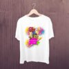 Mario-Happy-Holi-Kids-Tshirt