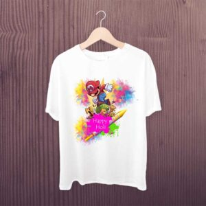 Mario Happy Holi Kids Tshirt