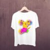 Pikachu-Happy-Holi-Kids-Tshirt