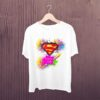 Superman-Happy-Holi-Kids-Tshirt