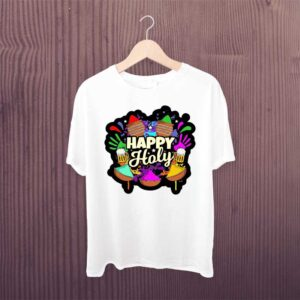 Happy Holi Color Full Holi Tshirt