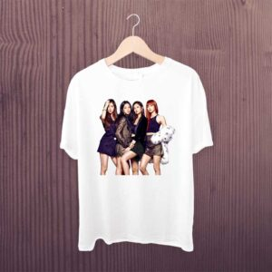 Black Pink Attractive Tshirt