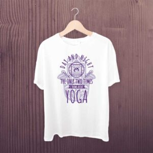 Day And Night Yoga Tshirt