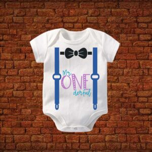 My Onederful Baby Romper