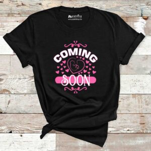 Coming Soon Baby Pregnancy T-Shirt